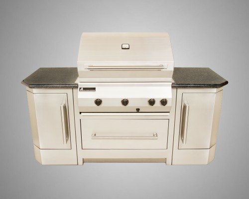6 Burner Stand-Alone Grill with 45 Degree Cabinet