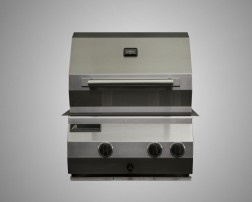 4 Burner Built-In Grill with Rotisserie