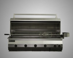 10 Burner Built-In Grill with Rotisserie