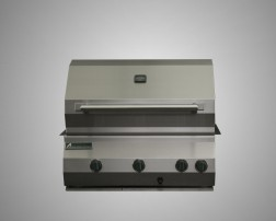 6 Burner Built-In Grill with Rotisserie