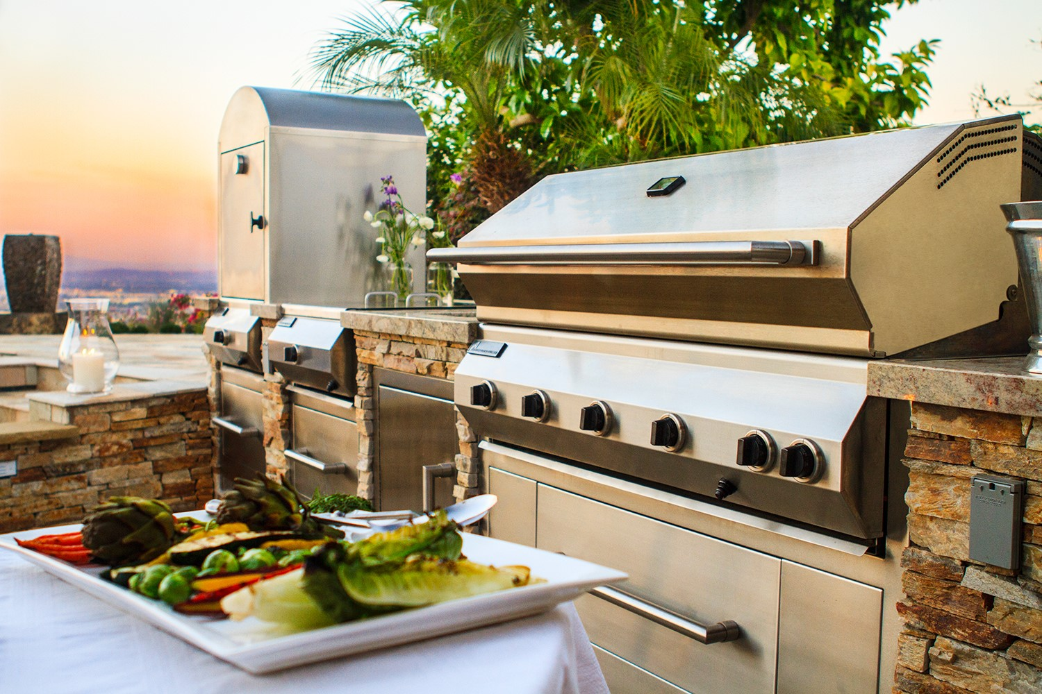 Outdoor kitchens american cooking equipment inc for Outdoor kitchen equipment